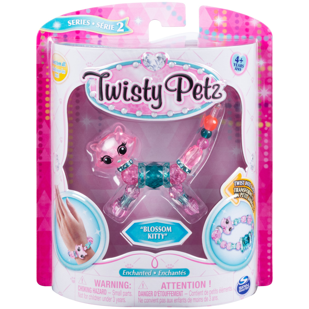 Bratara Twisty Petz – Blossom Kitty