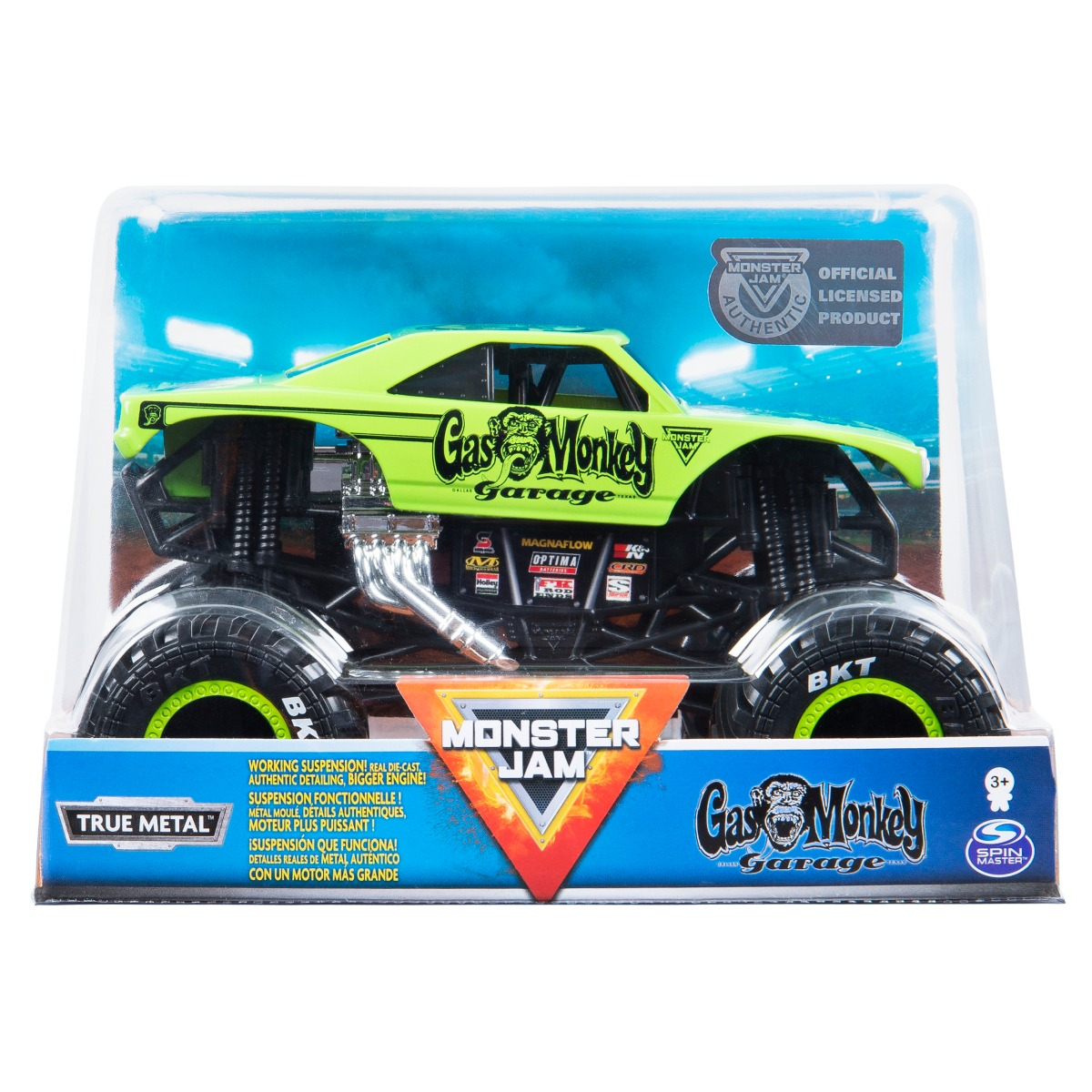 Masinuta Monster Jam, Gas Monkey, Scara 1:24, 20120675