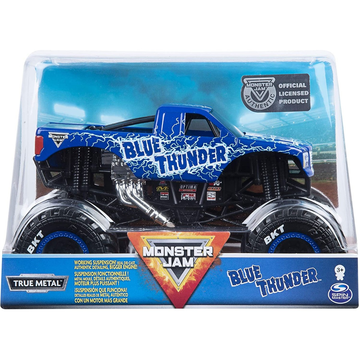 Masinuta Monster Jam, Blue Thunder, Scara 1:24