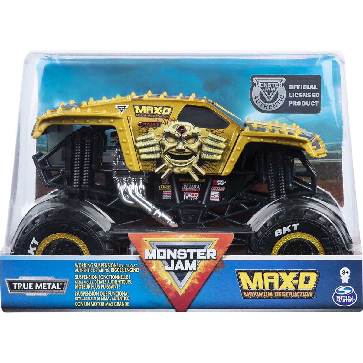 Masinuta Monster Jam, Max-D Maximum Destruction, Scara 1:24