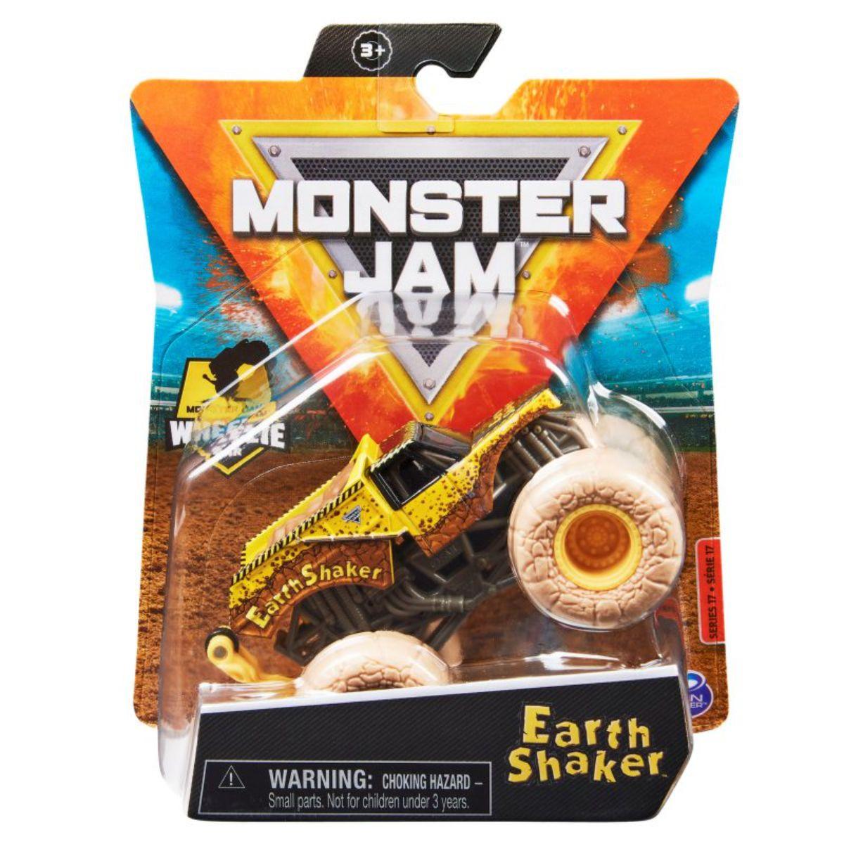Masinuta Monster Jam, Scara 1:64, Earth Shaker, 20130579