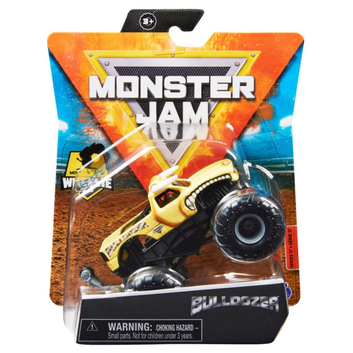 Masinuta Monster Jam, Scara 1:64, Buldozer, 20130581