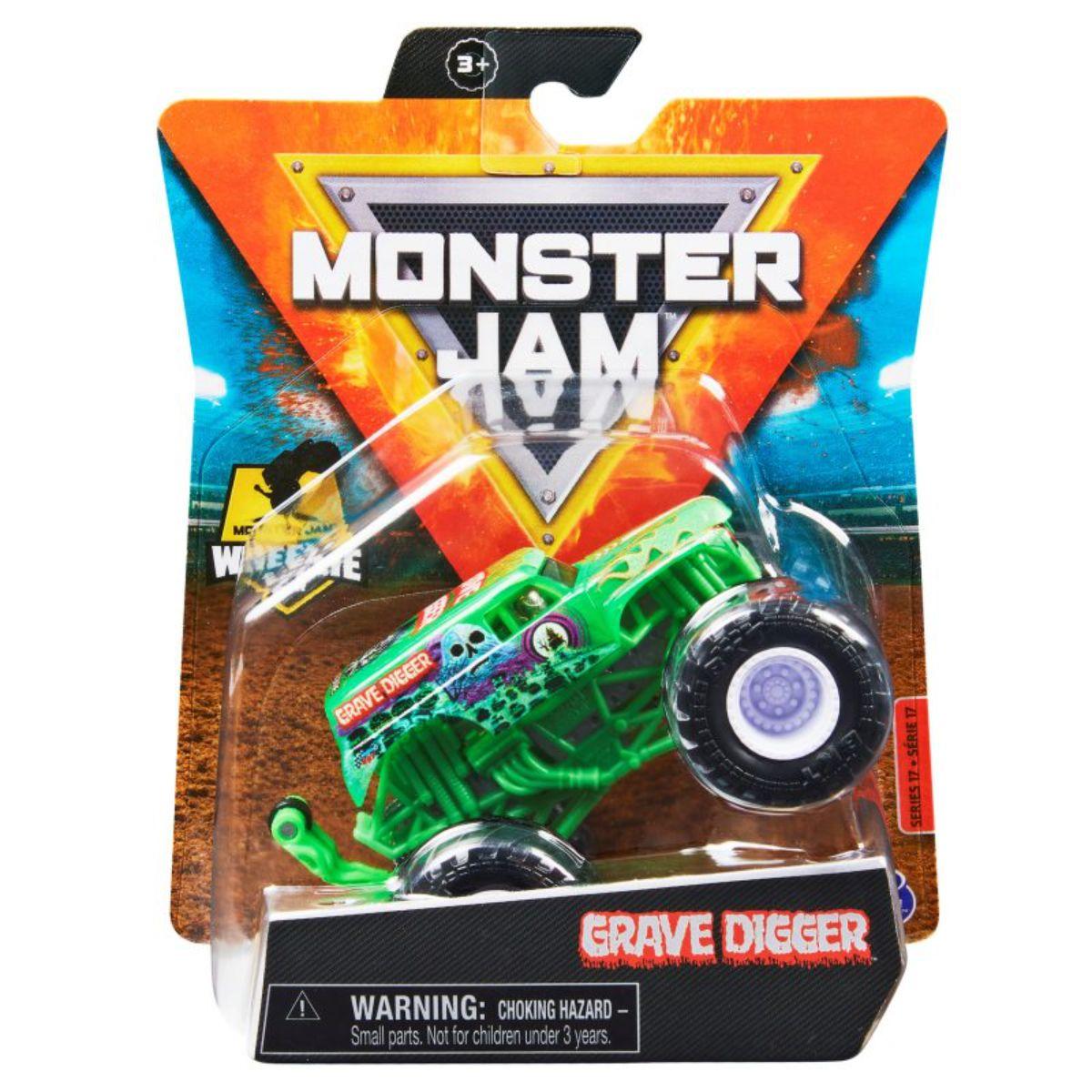 Masinuta Monster Jam, Scara 1:64, Dragon, 20130585