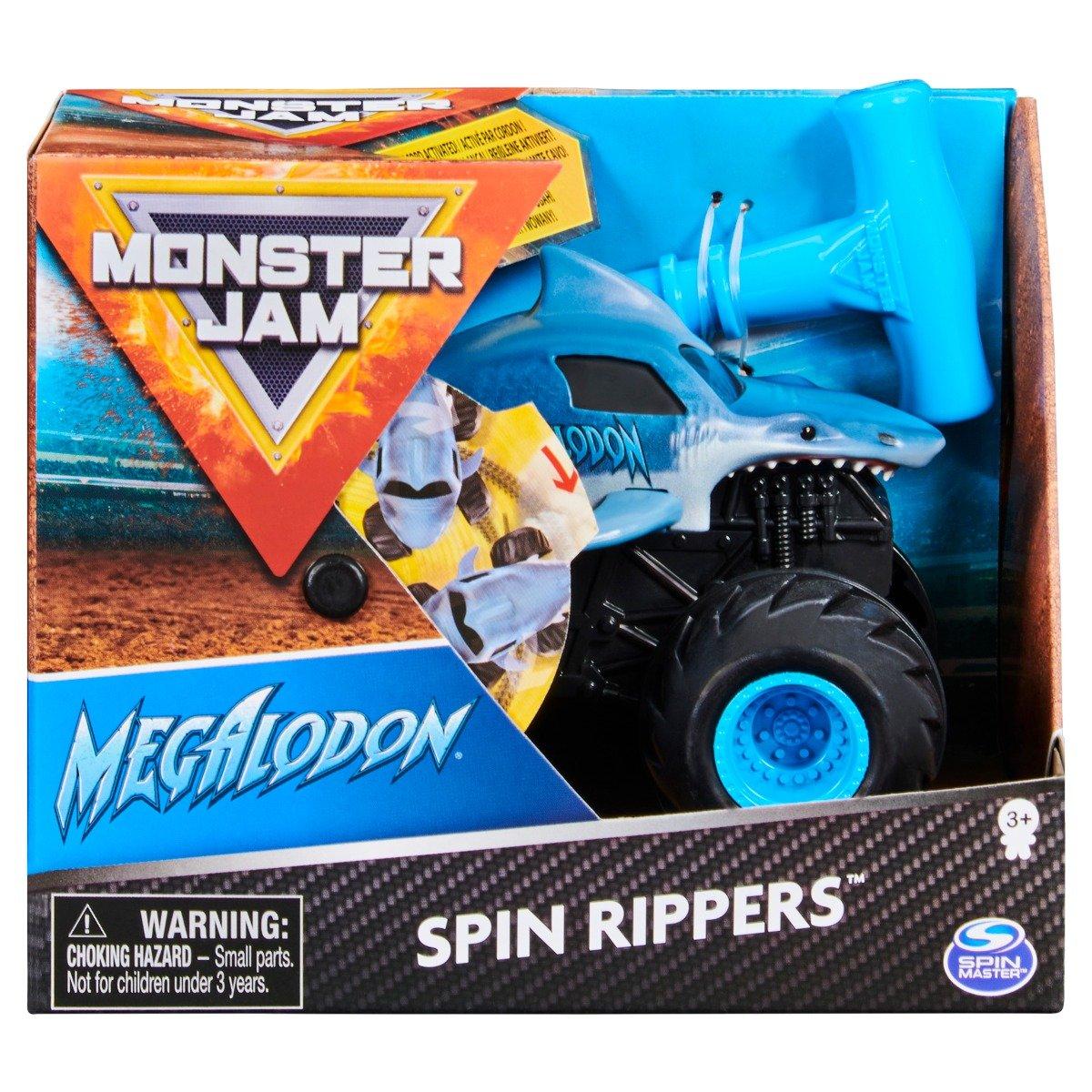 Masinuta Monster Jam, Scara 1:43, Megalodon Spin Rippers
