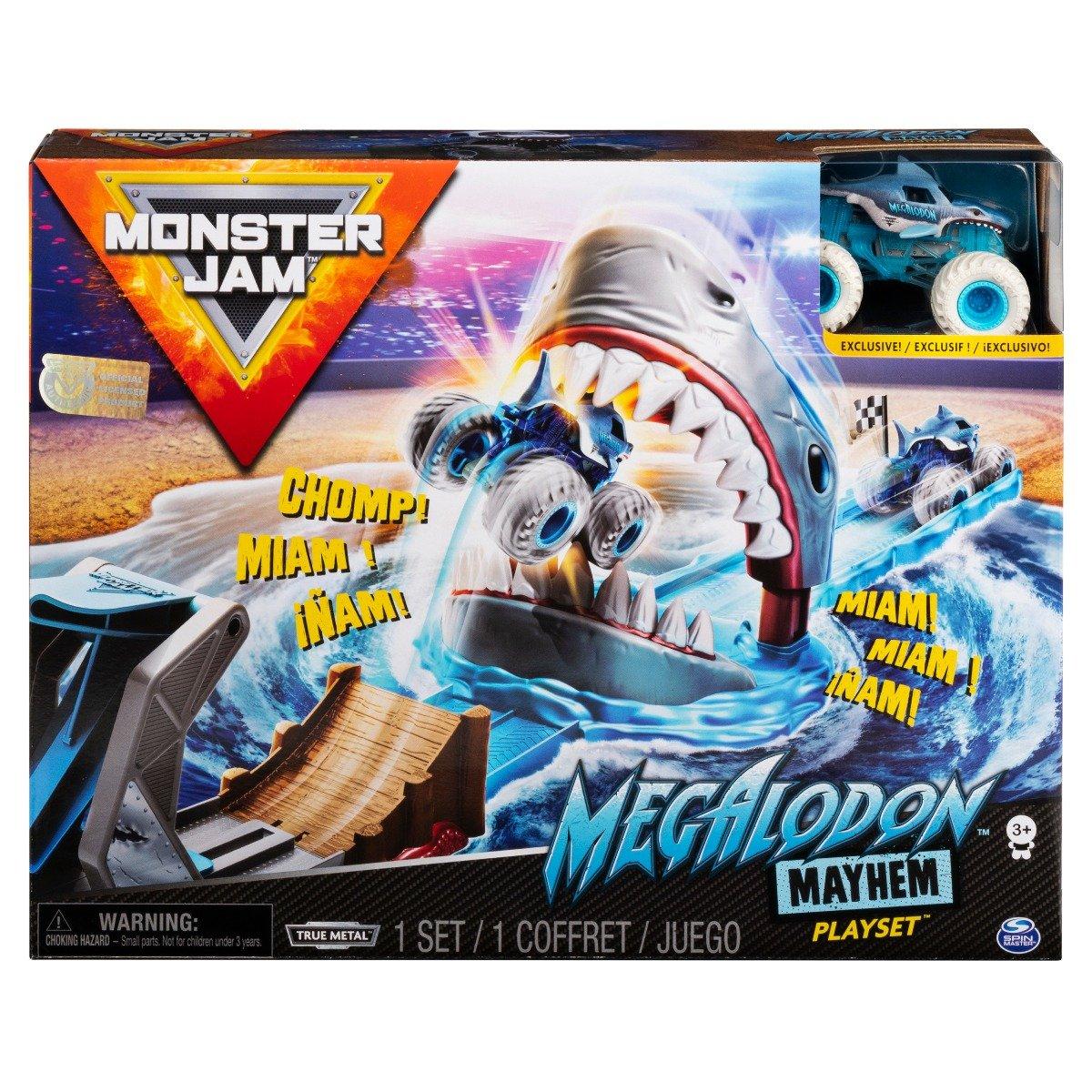 Set masinuta Monster Jam, Megalodon Mayhem, 20120790
