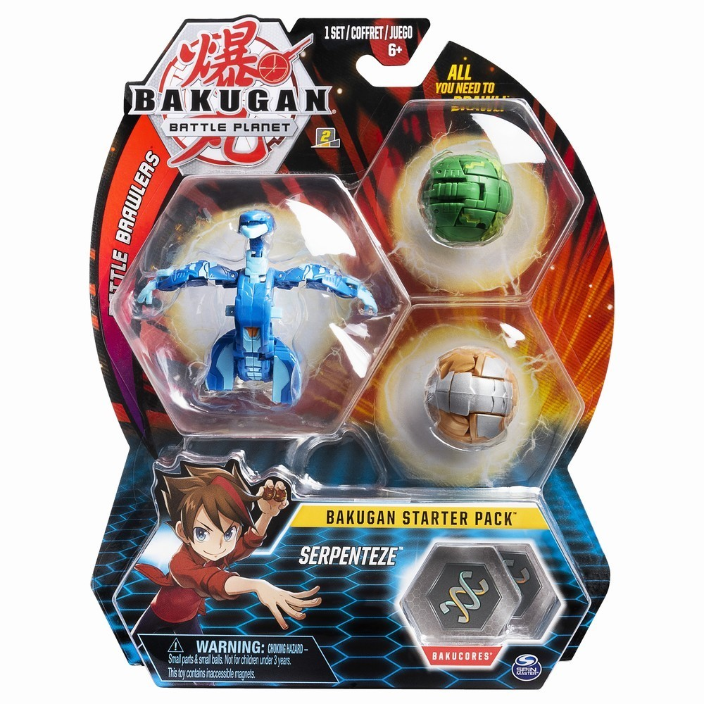 Set Bakugan Battle Planet Starter Pack, Serpentene, 20104022