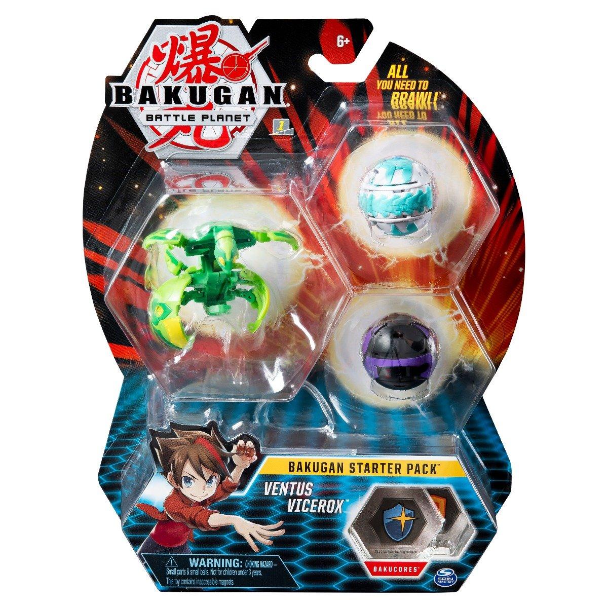 Set Bakugan Battle Planet Starter Ventus Vicerox, 20114996
