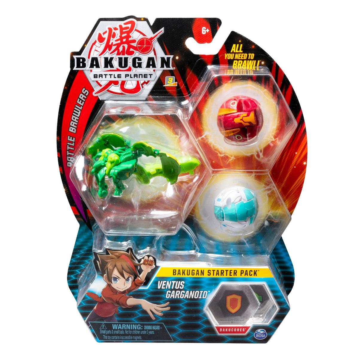 Set Bakugan Battle Planet Starter Ventus Garganoid, 20108793