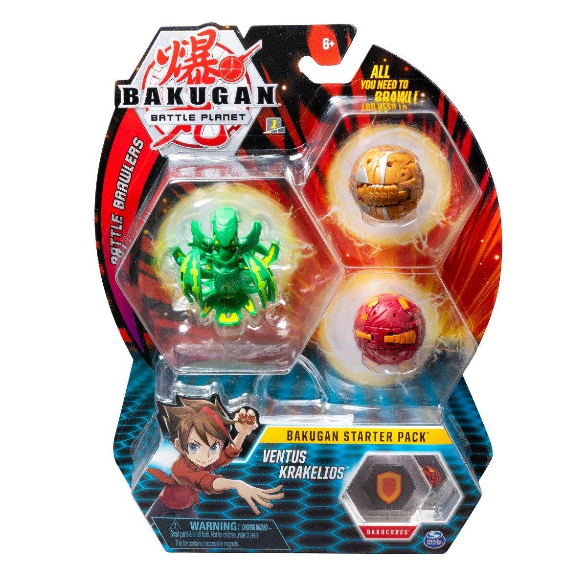 Set Bakugan Battle Planet Starter Ventus Krakelios, 20108794