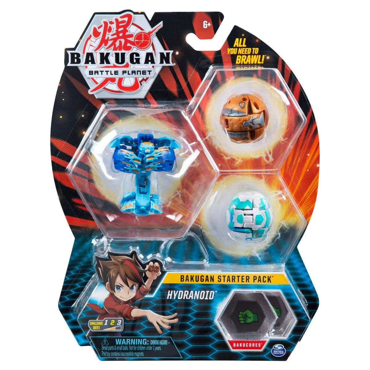 Set Bakugan Battle Planet Starter Pack, Hydranoid, 20118471