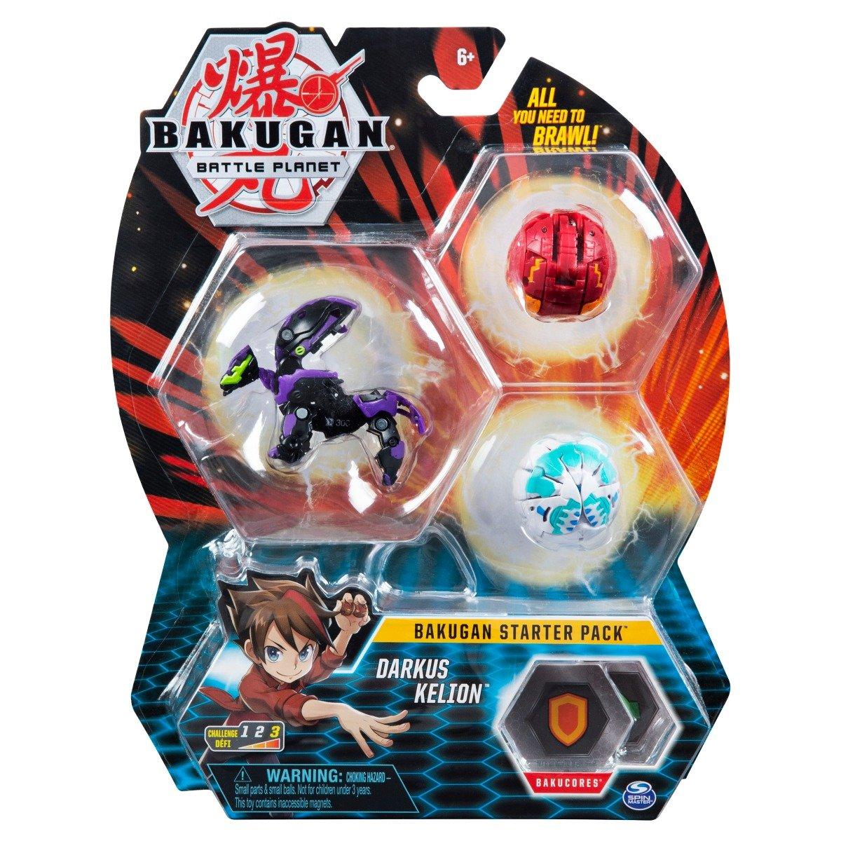 Set Bakugan Battle Planet Starter Pack, Darkus Kelion, 20118473