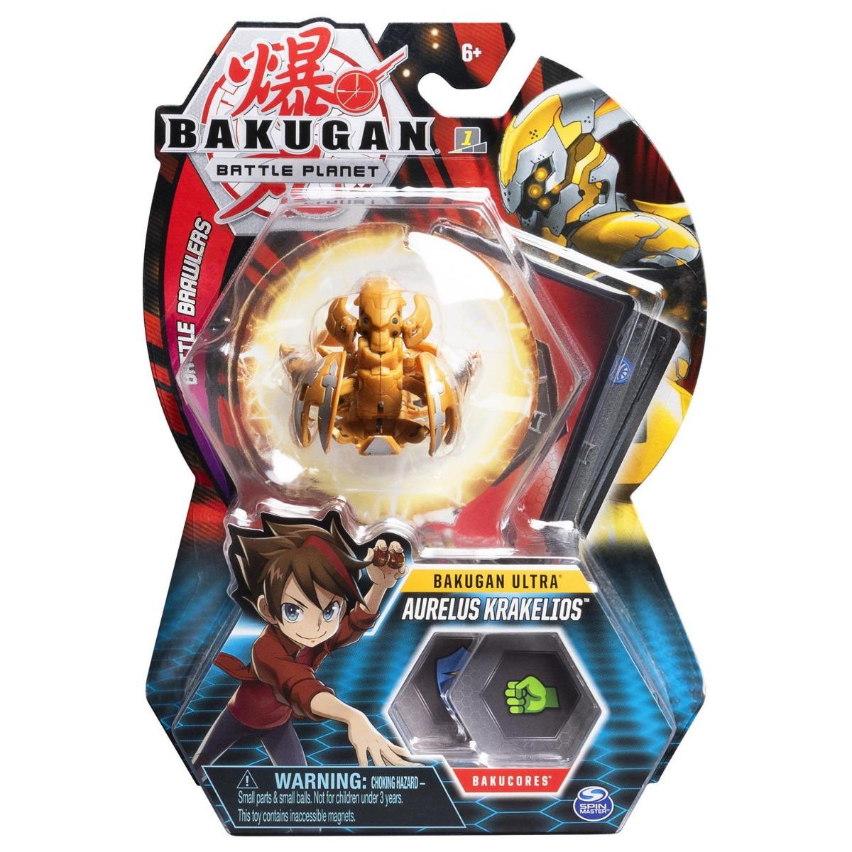 Figurina Bakugan Ultra Battle Planet, 12F Kraken Gold, 20109041