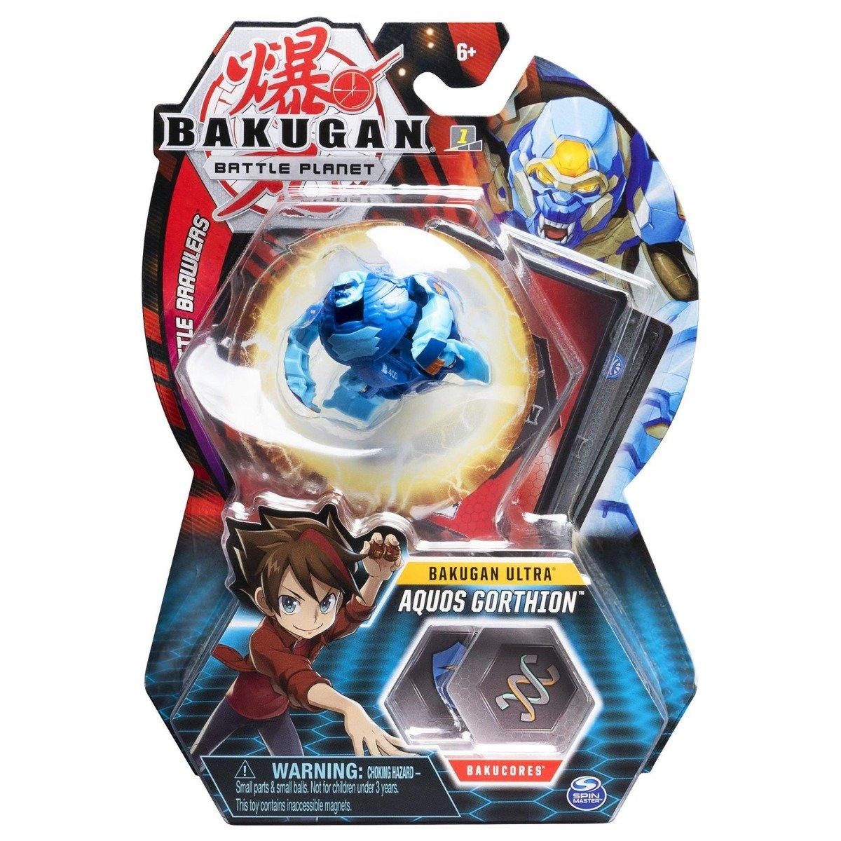 Figurina Bakugan Ultra Battle Planet, 15B Gorilla Blue, 20109038