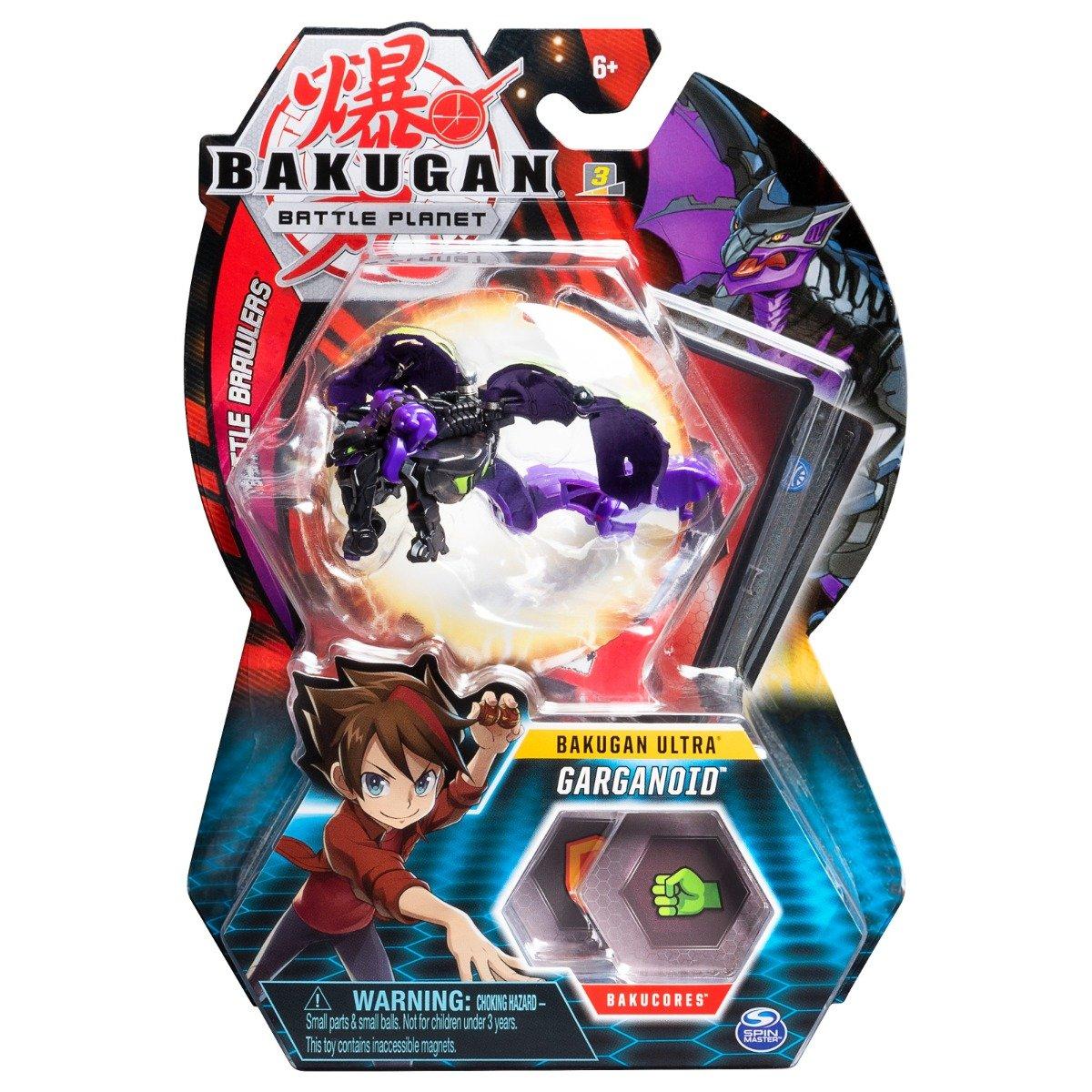 Figurina Bakugan Ultra Battle Planet, Gargoyle Black, 20109044