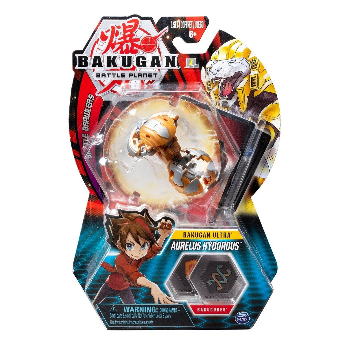 Figurina Bakugan Ultra Battle Planet, 2F Lion Gold, 20107994