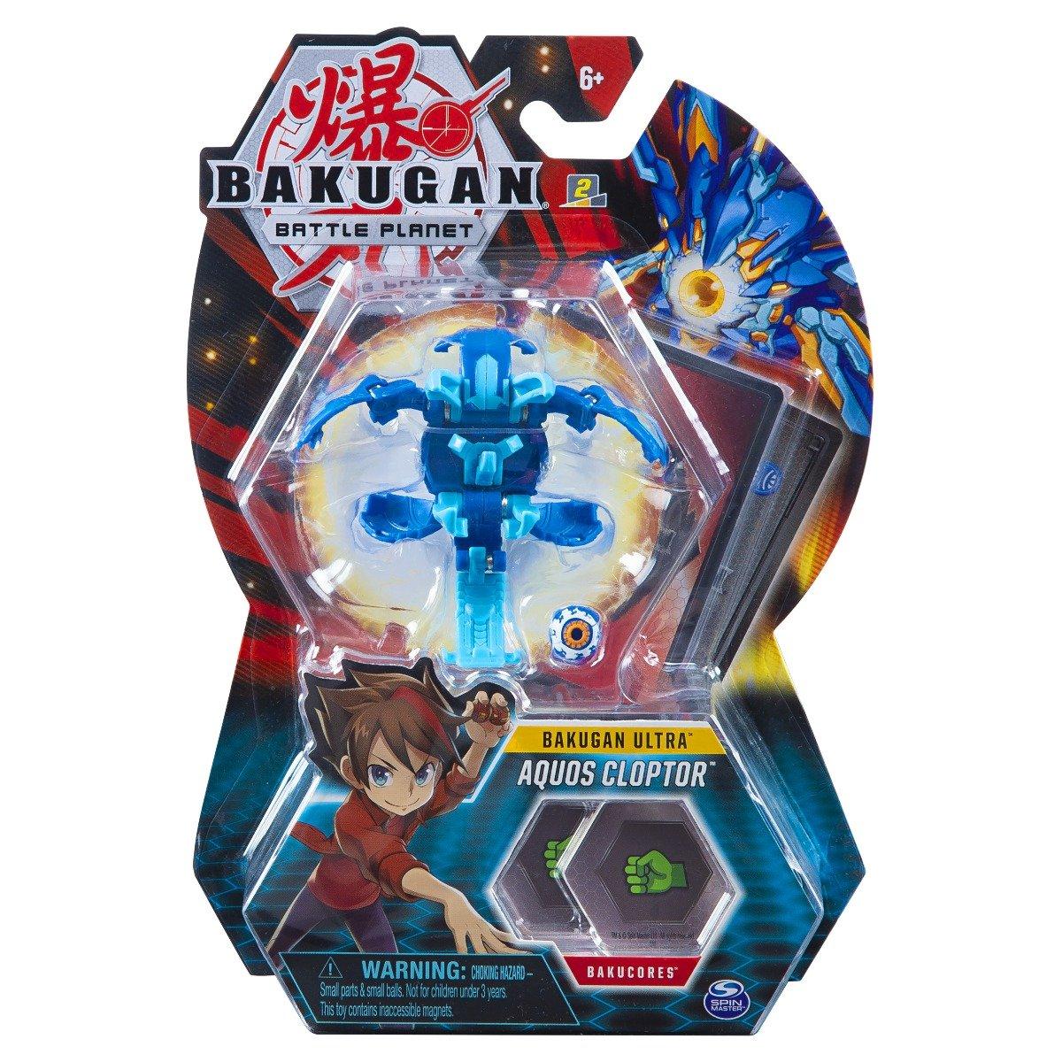 Figurina Bakugan Ultra Battle Planet, Aquos Cloptor, 20118133