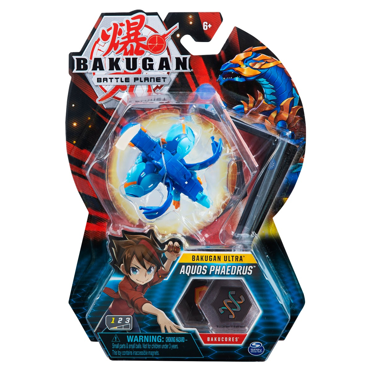 Figurina Bakugan Ultra Battle Planet, Aquos Phaedrus, 20119412