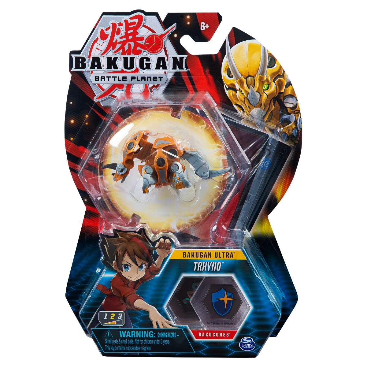 Figurina Bakugan Ultra Battle Planet, Trhyno, 20119415
