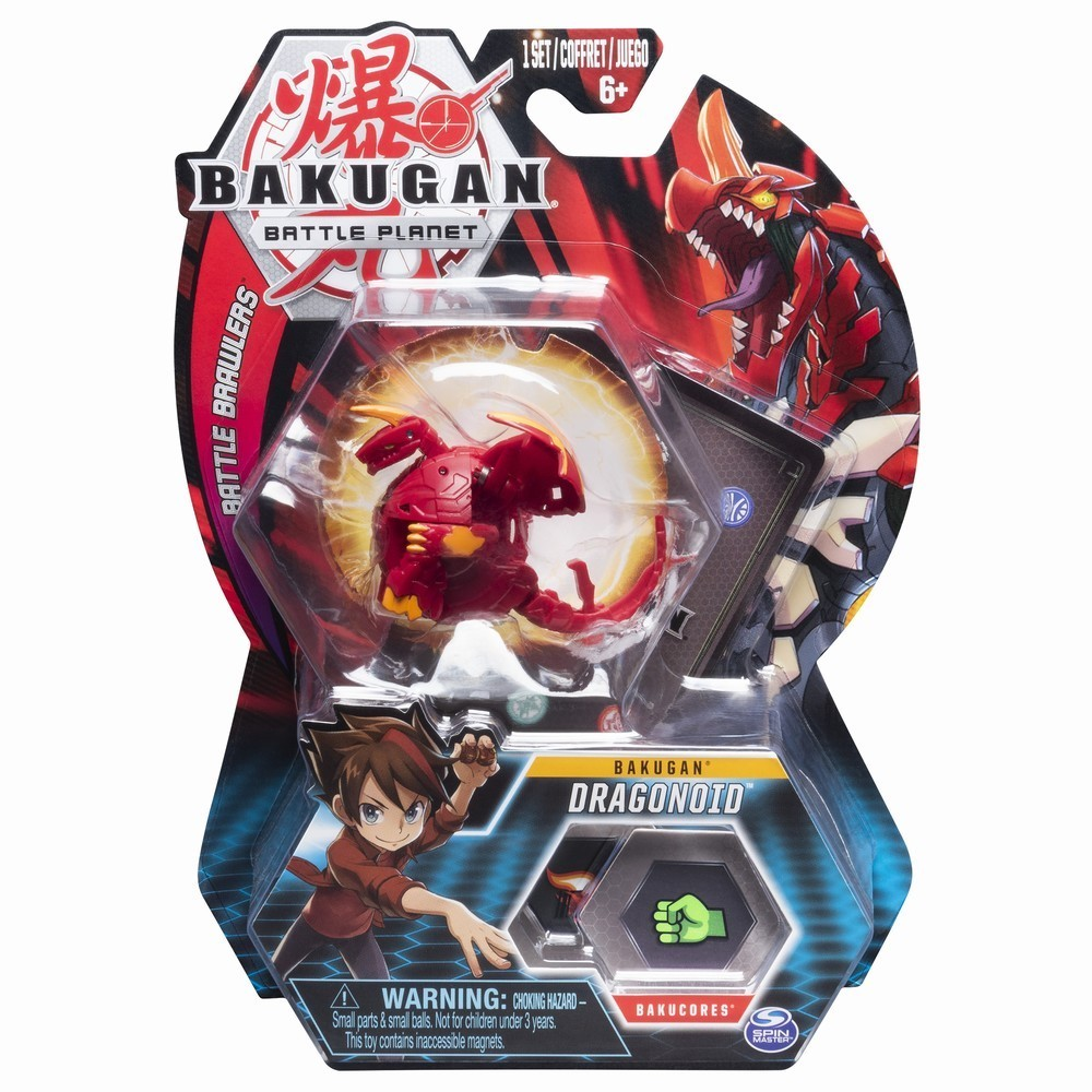 Figurina Bakugan Battle Planet, Dragonoid, Red, 20103975