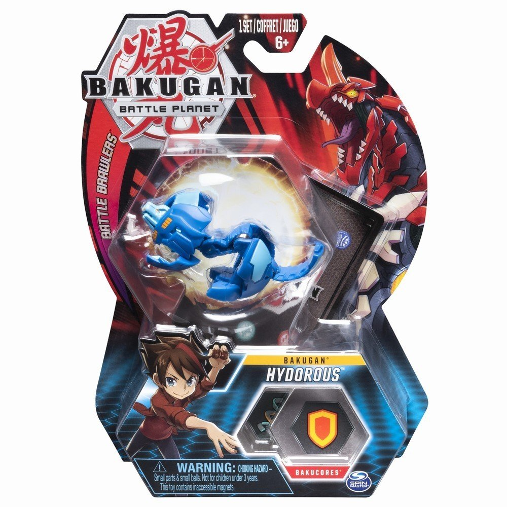 Figurina Bakugan Battle Planet, Lion, Blue, 20103977