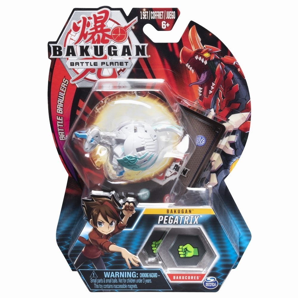 Figurina Bakugan Battle Planet, Pegasus, White, 20103983