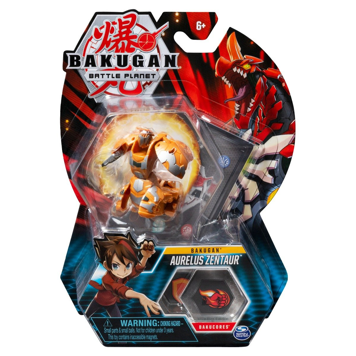 Figurina Bakugan Battle Planet, Aurelius Zentaur, 20118439
