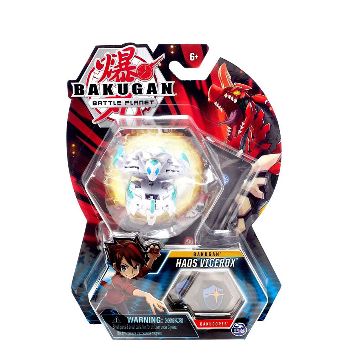 Figurina Bakugan Battle Planet, Haos Vicerox, 20118443