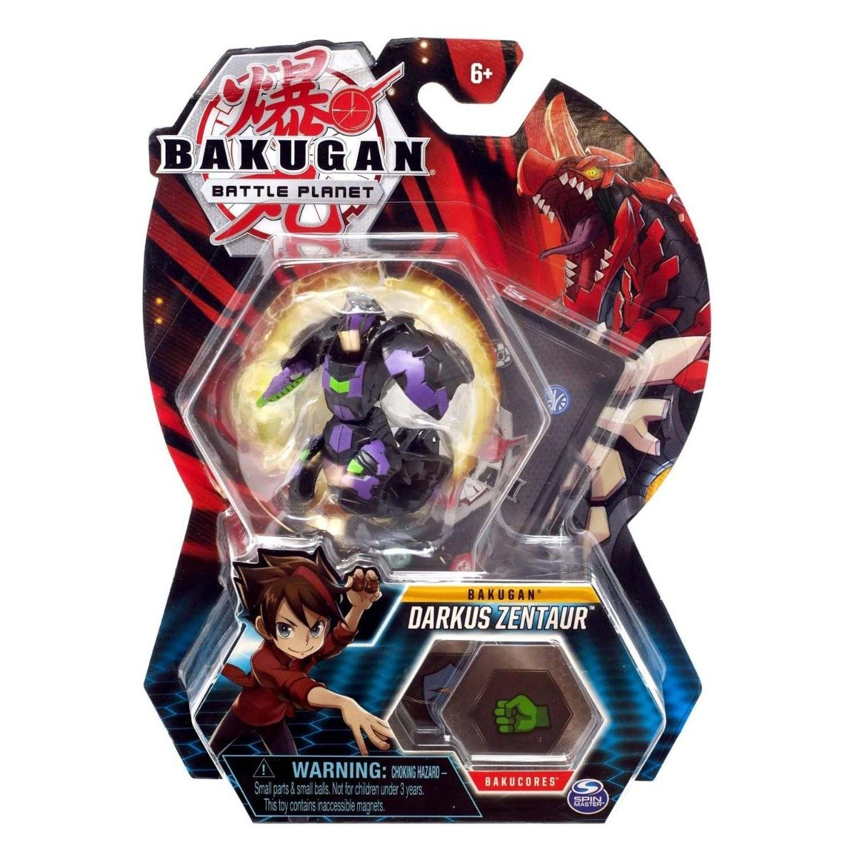 Figurina Bakugan Battle Planet, Darkus Zentaur, 20118444