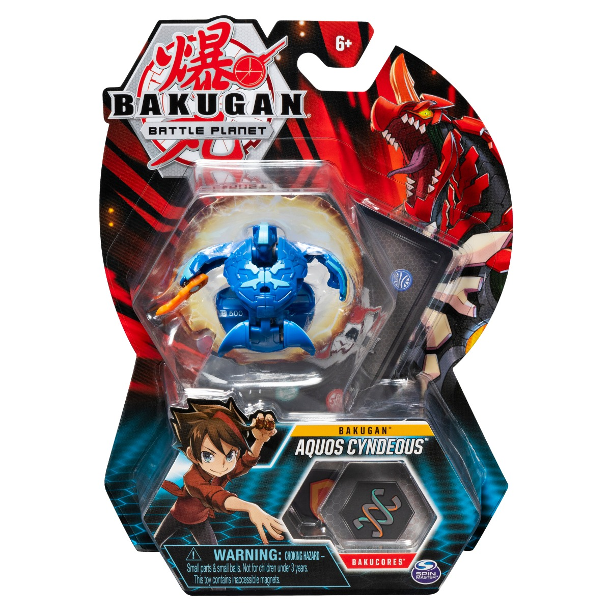 Figurina Bakugan Battle Planet, Aquos Cyndeous, 20119733