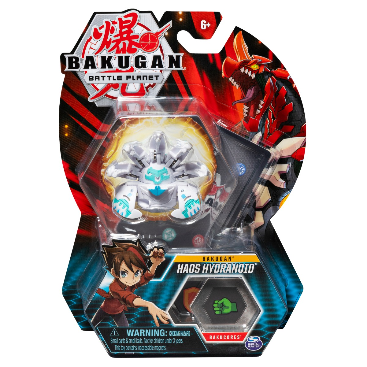 Figurina Bakugan Battle Planet, Haos Hydranoid, 20119737