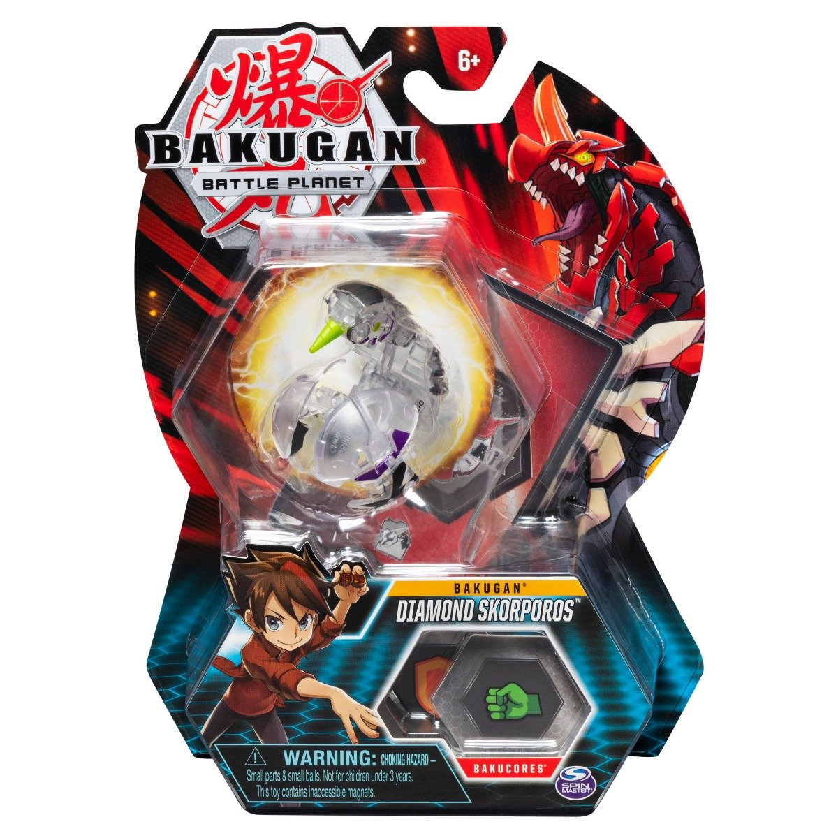 Figurina Bakugan Battle Planet, Diamond Skorporos, 20119875