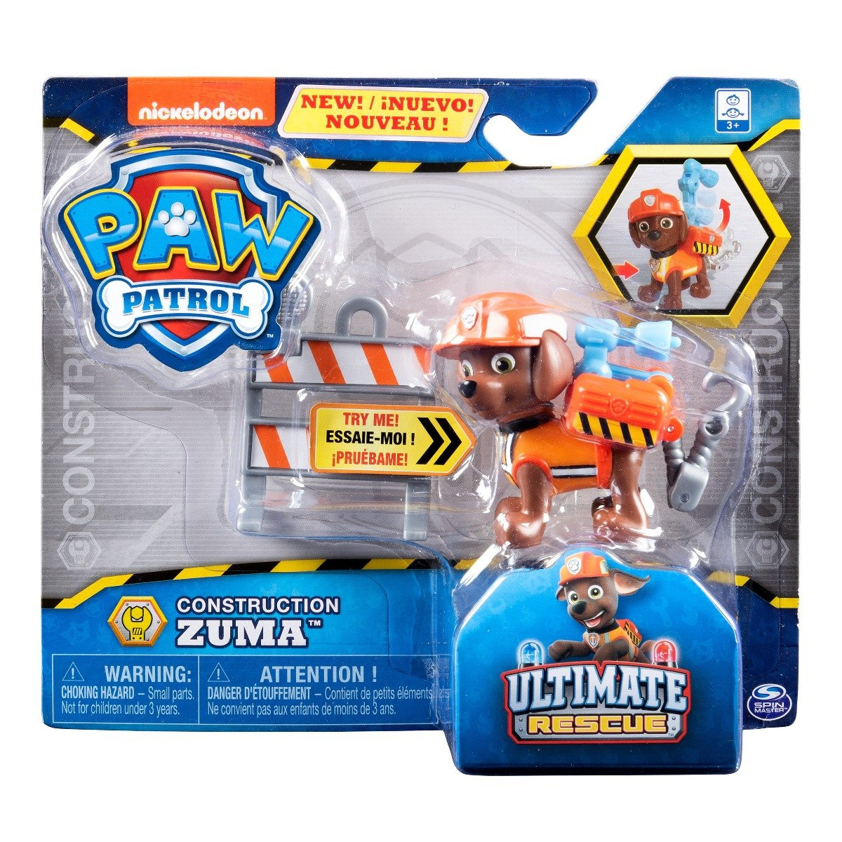 Figurina Paw Patrol Construction, Zuma, 20106598