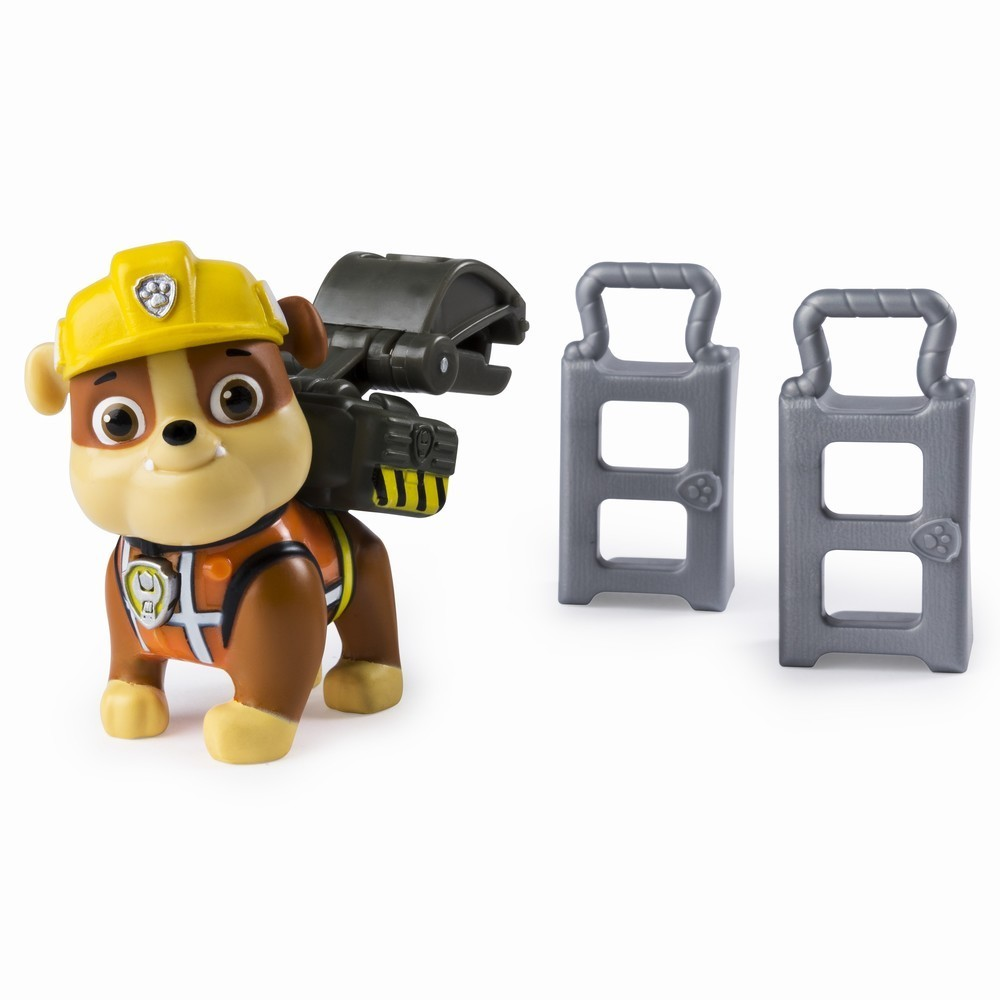 Figurina Paw Patrol Construction, Rubble, 20106595