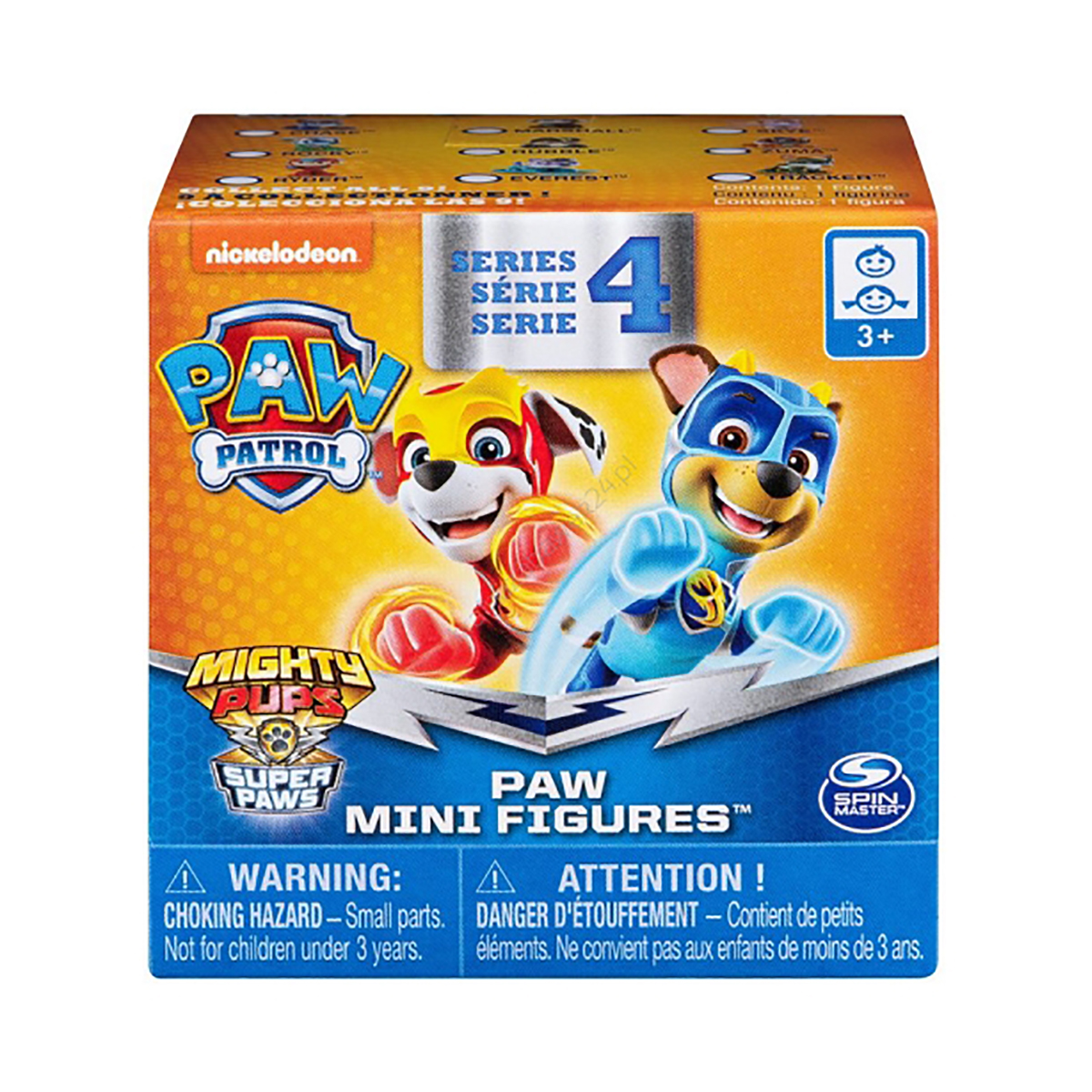 Set mini figurine supriza Paw Patrol S4, (20113988)