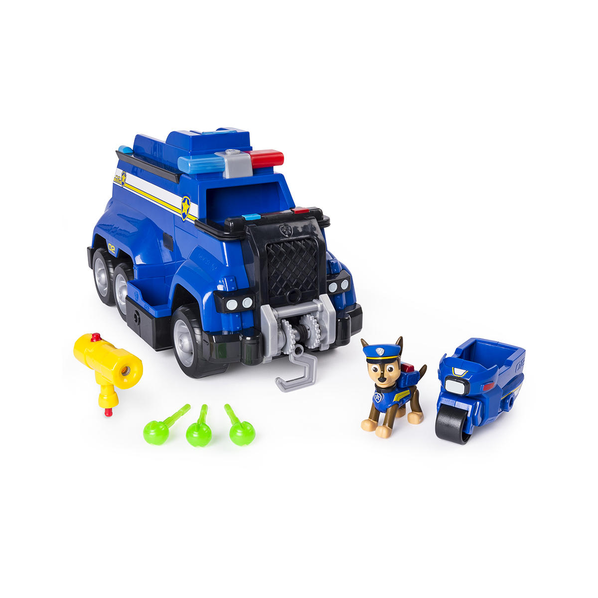 Set de joaca Paw Patrol, Vehicul de politie cu functiuni, Chase