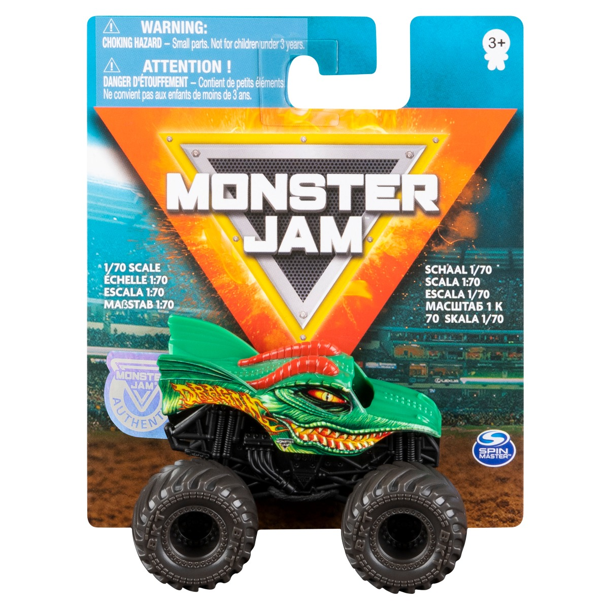 Masinuta Monster Jam, Dragon Trucks, 20108582