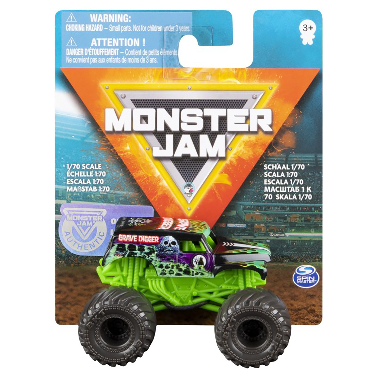 Masinuta Monster Jam 1:70, Grave Digger, 20120609