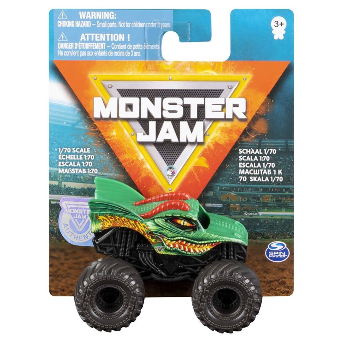 Masinuta Monster Jam 1:70, Dragon, 20120610