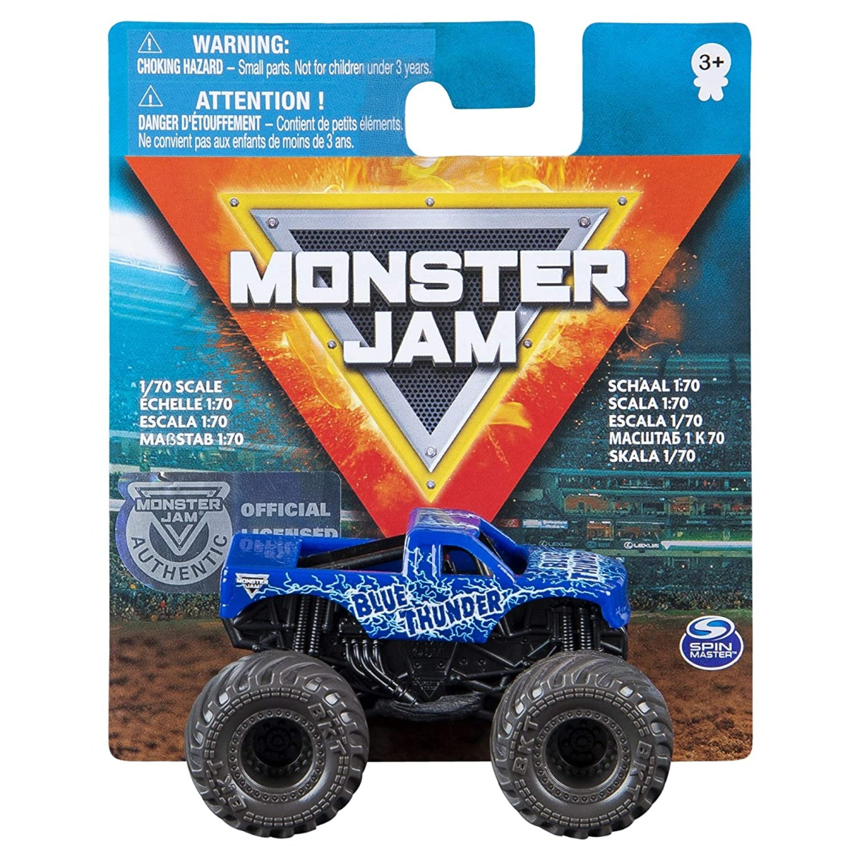 Masinuta Monster Jam 1:70, Blue Thunder, 20120611