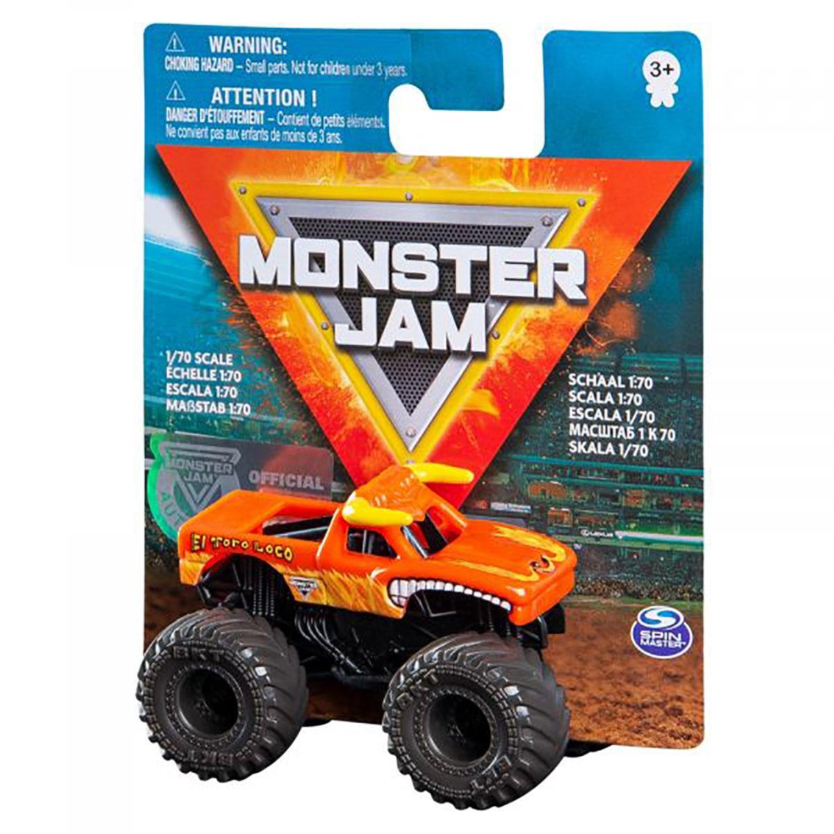 Masinuta Monster Jam 1:70, El Toro Loco, 20120612