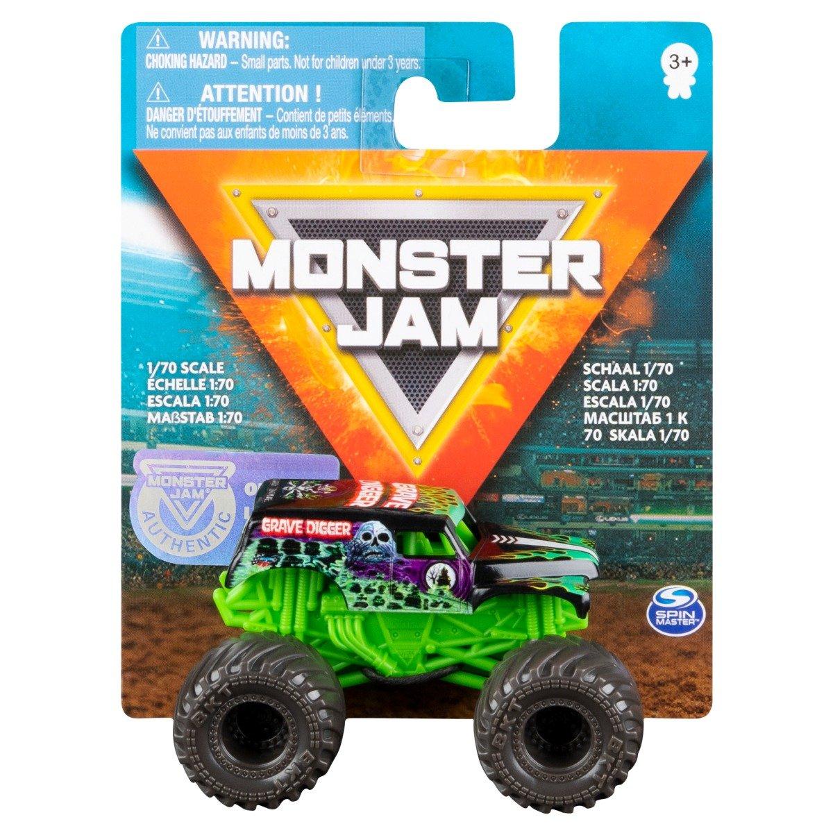 Masinuta Monster Jam 1:70, Grave Digger, 20126425