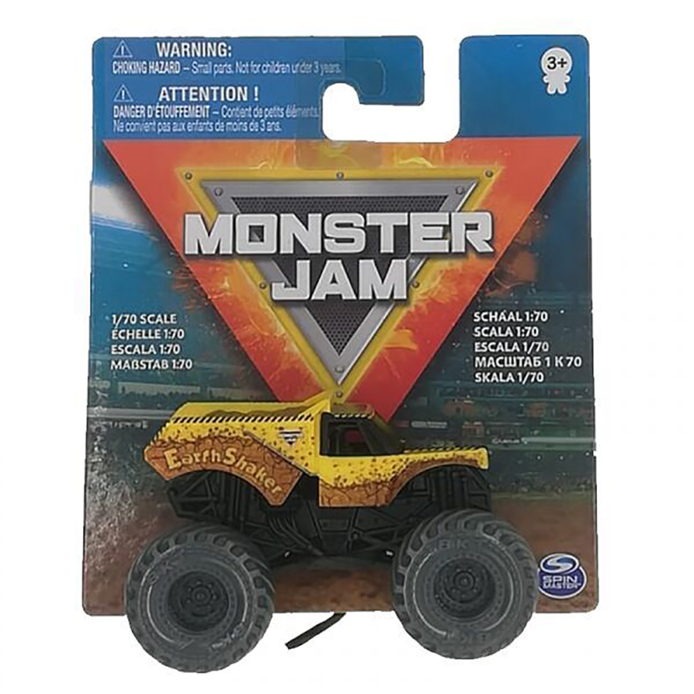 Masinuta Monster Jam 1:70, Earth Shaker, 20126427