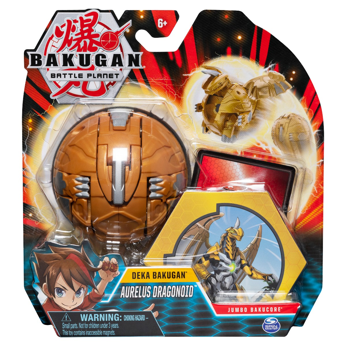 Figurina Bakugan Battle Planet Deka, Aurelius Dragonoid 20115355