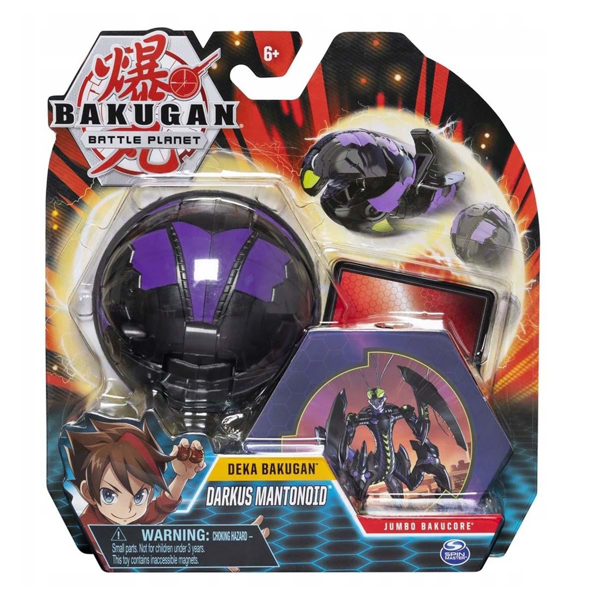 Figurina Bakugan Battle Planet Deka, Darkus Mantonoid, 20115361 imagine 2021