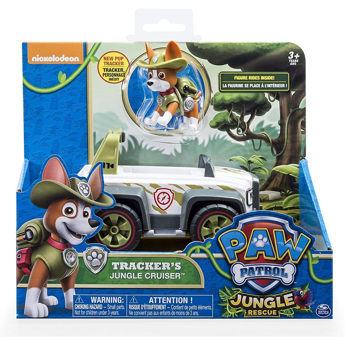Masinuta cu figurina Paw Patrol, Trucker, 20124642
