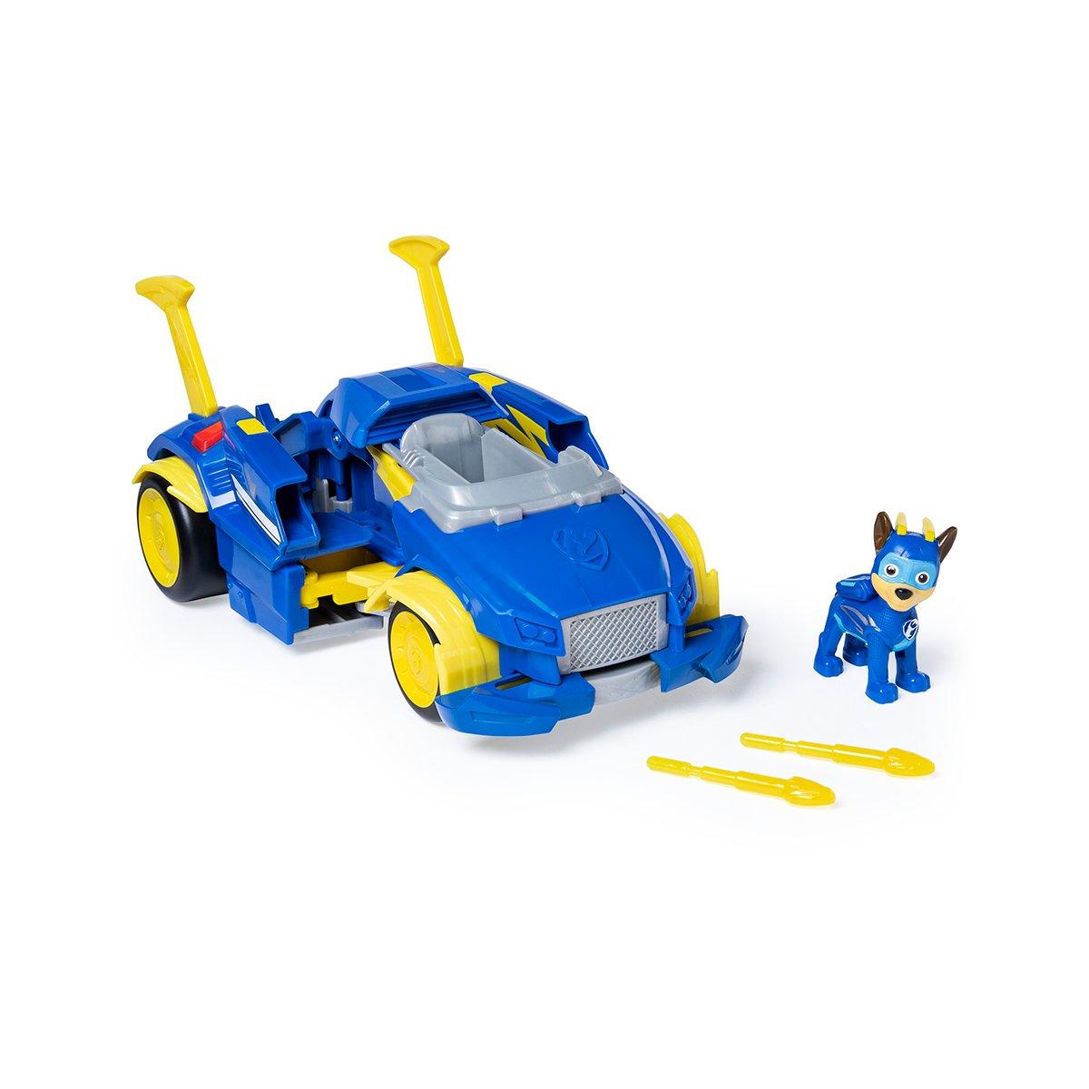 Figurina cu vehicul transformabil Paw Patrol, Chase (20115057)