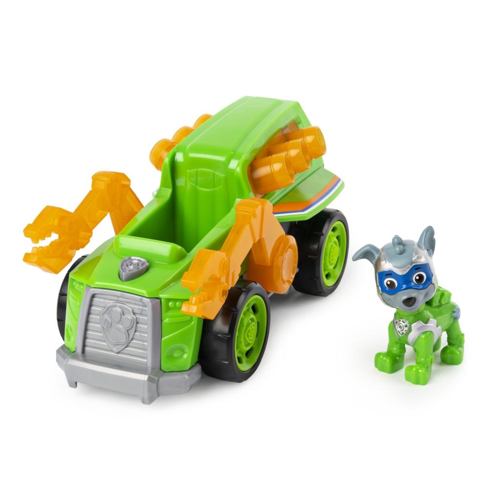 Figurina cu vehicul Paw Patrol, Rocky (20115479)