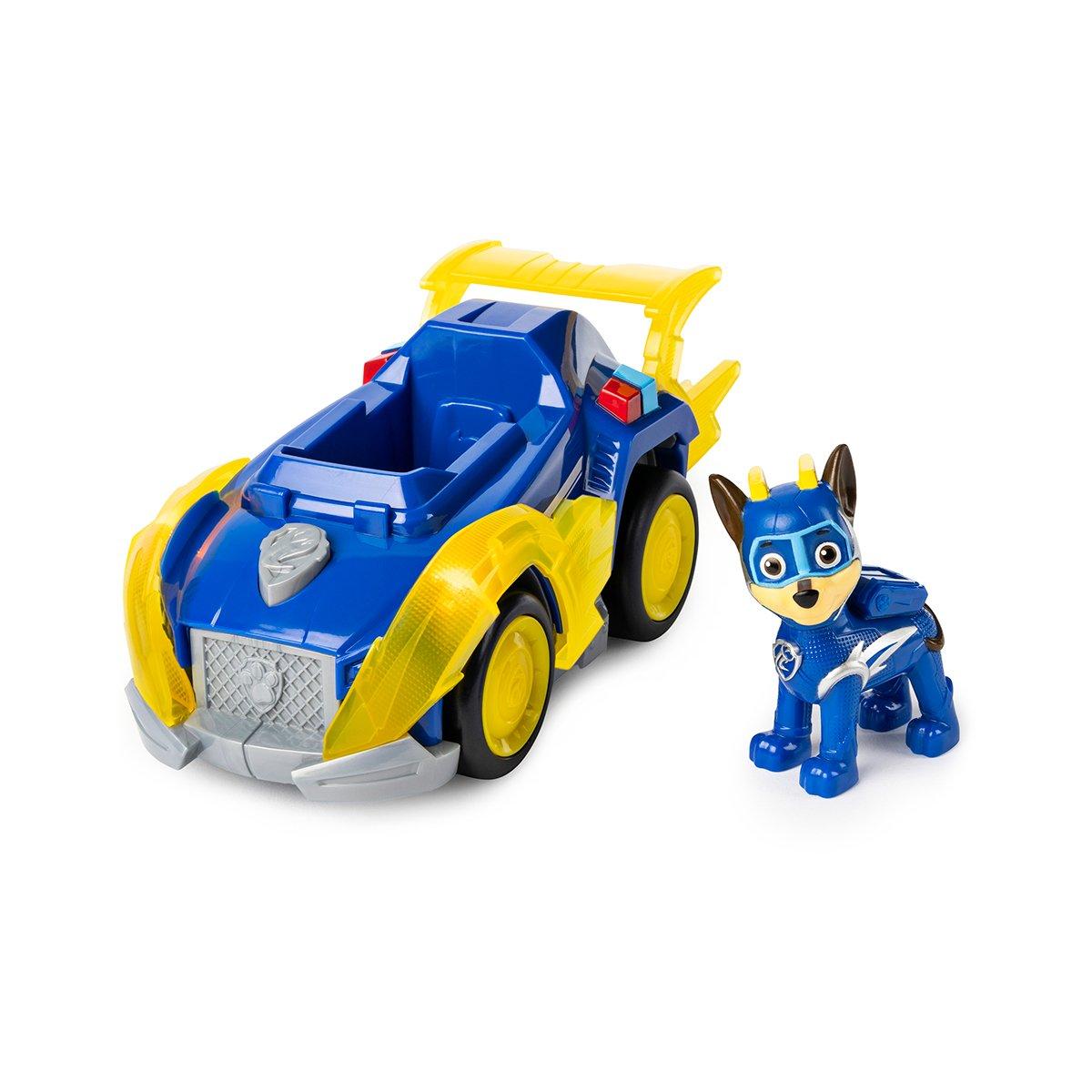 Figurina cu vehicul Paw Patrol, Chase (20115475) imagine