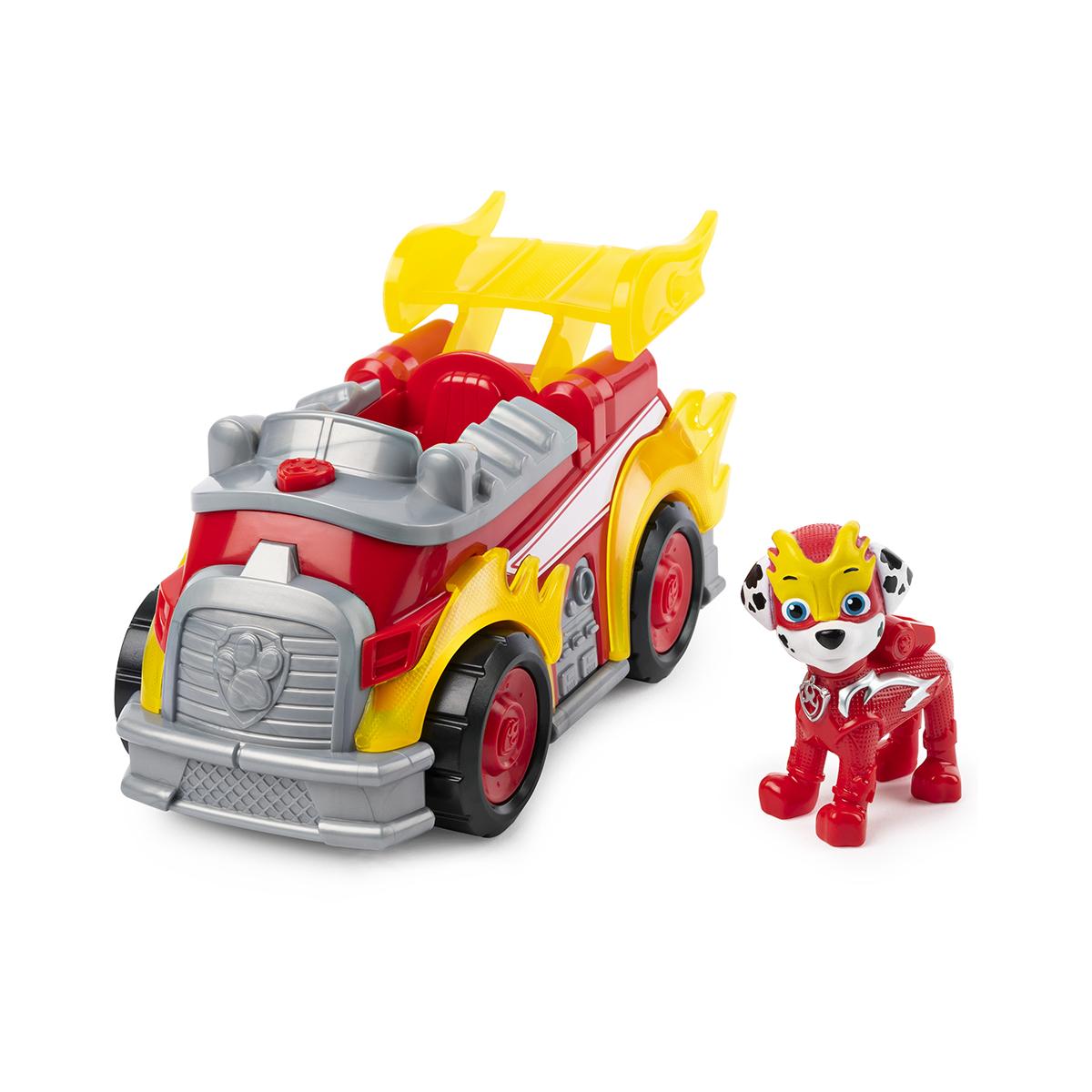 Figurina cu vehicul Paw Patrol, Marshall (20115476)