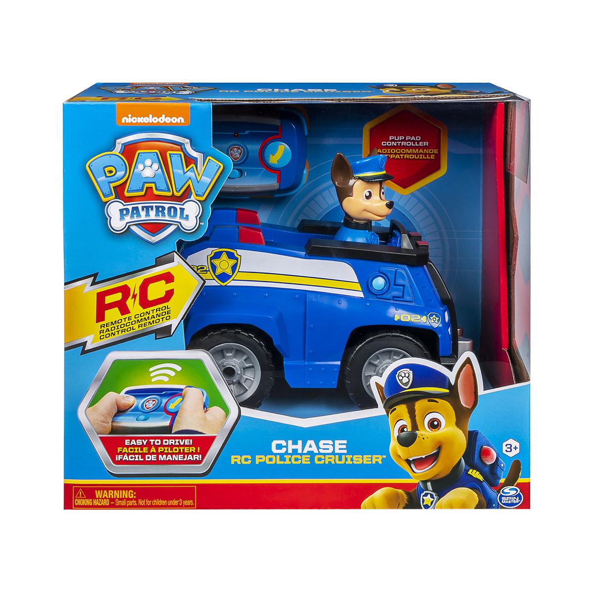Figurina cu masina Paw Patrol Chase RC